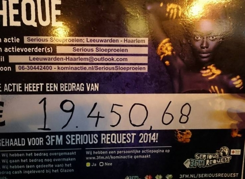 3FM Serious Request 2014 roeien
